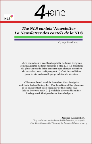 4+One LA Newsletter des cartels de la NLS - nº3