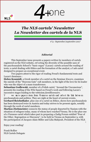 4+One LA Newsletter des cartels de la NLS - nº4